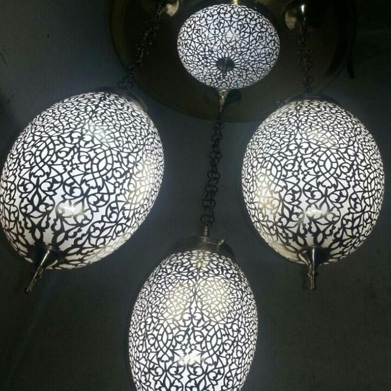 Serie de de tres cobre lámparas wiTZuXlOPk