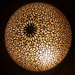 Luz de techo de cobre