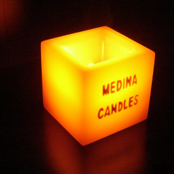 Custom candle holder