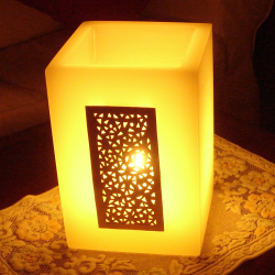 Rectangular wax lanterns