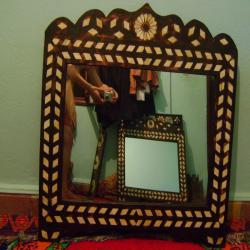 Miroir artisanale