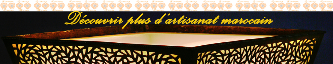Acheter l'artisanat marocain et profiter de nos remises